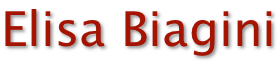 Logo Elisa Biagini